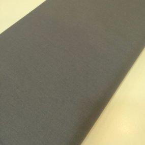 Algodón liso gris melange (1)