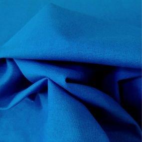 Algodoón liso Azul Klein (1)