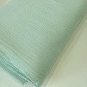 Doble gasa verde menta (3)