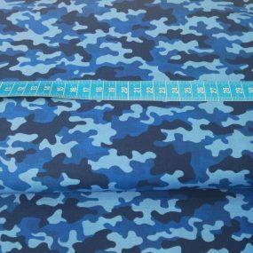 Algodón camuflaje azul (1)