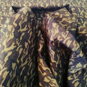 Algodón camuflaje verde 2