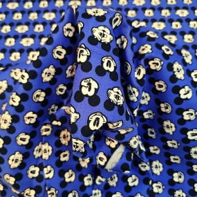 Mickey fondo azul electrico