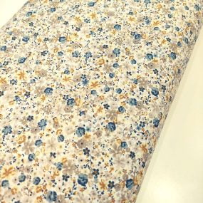 viella blanca flores mostaza azull