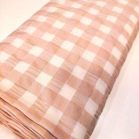 Seersucker nude y blanco 2cm (2)