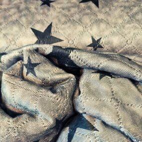 Sudadera borreguito estrellas verde